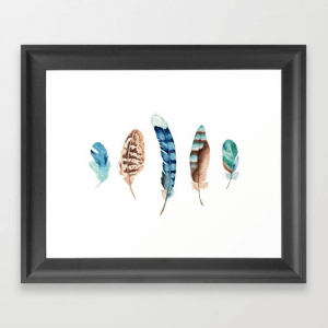 society6 framed art