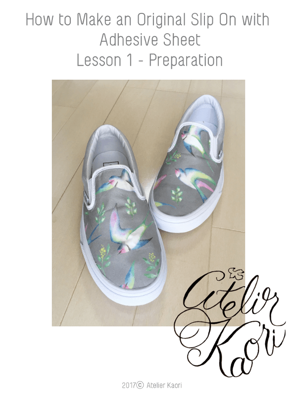 diy colorful slipon