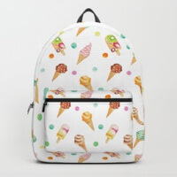 Ice cream backpacks
