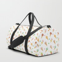Ice cream duffle bags