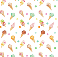 spoonflower ice cream white-s