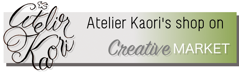 atelierkaori's shop on creative market